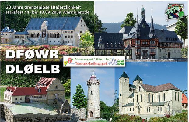 QSL Karte - Harzfest Wernigerode 2009