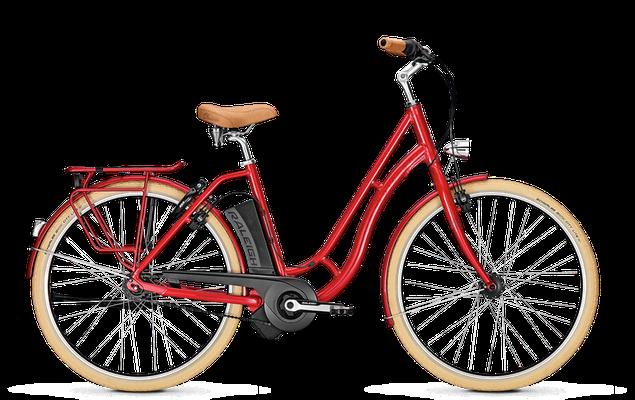 Raleigh Dover Impulse Classic in rot - City e-Bike - 2018