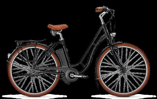 Raleigh Dover Impulse Classic in schwarz - City e-Bike - 2018
