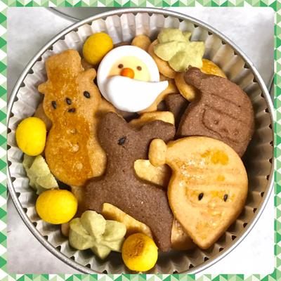 2018年 クリスマスクッキー缶