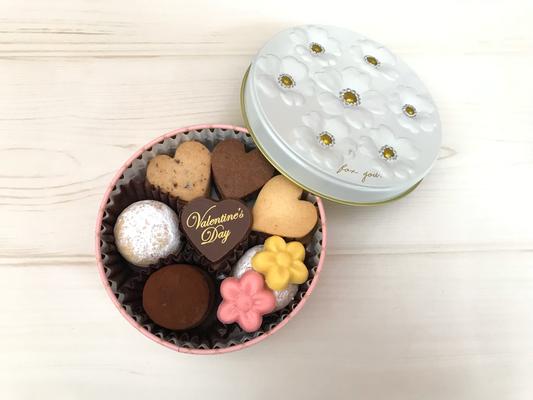 2019年 バレンタインクッキー缶
