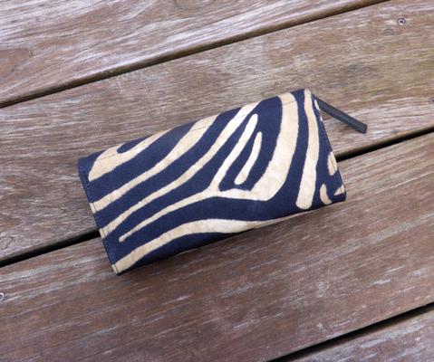 Portemonnaie der Taschenkollektion Zebra Rückseite