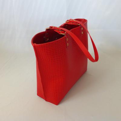Shoppertasche der Taschenkollektion Python Flame