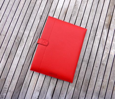 Tablet-Hülle FlameRed Rückseite