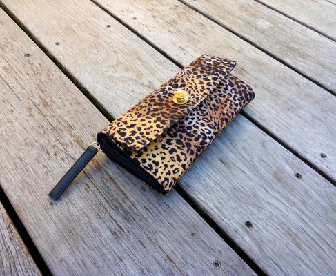 Leopard Portemonnaie