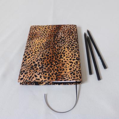 Notizbuch A5 Baby-Leopard Rückseite