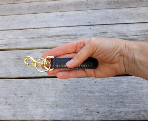 Schlüsselanhänger für Taschenkollektion Zebra