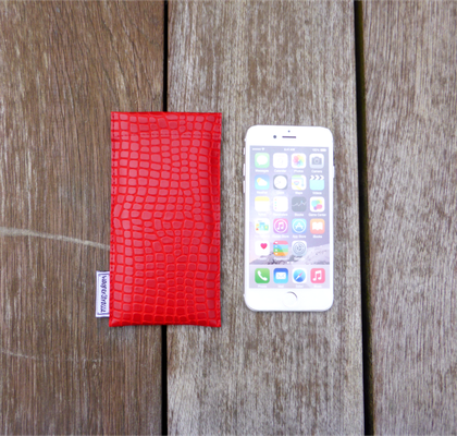 iPhonehülle Python FlameRed