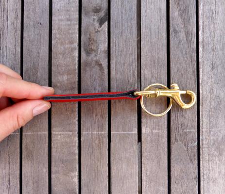 Schlüsselanhänger für Taschenkollektion FlameRed
