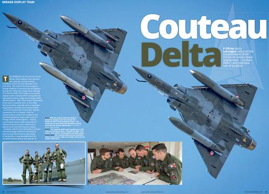 Le reportage avec les Couteau Delta par Patrice OLIVIER & Joel LEMOIGNE