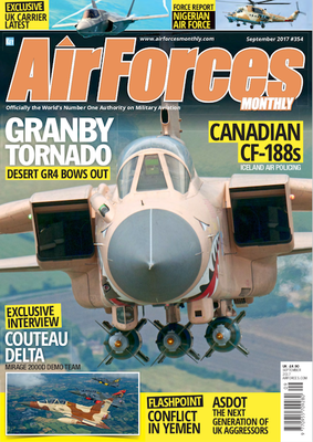 Couverture du magazine Airforces Monthly n°354