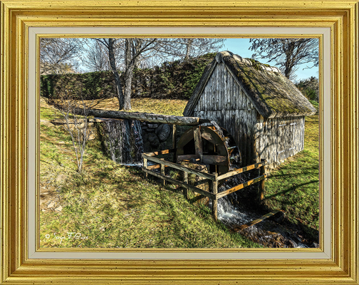 Le petit Moulin de Murat le Quaire - Façon tableau - Massif du Sancy - Auvergne - France