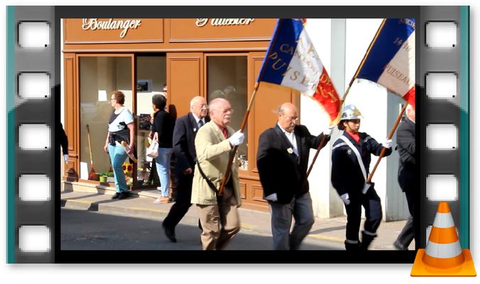 Video: Parade zum 8.Mai - Nationalfeiertag zum Gedenken des Endes des 2. Weltkrieges