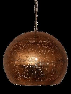Oosterse filigrain lamp,hanglamp filigrain, Metalen gaatjes lamp, egyptisch, verschillende kleuren!