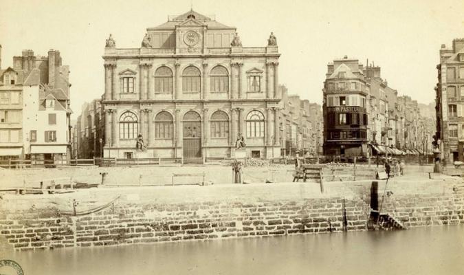 Le musée du Havre (source : 7Fi108 AMH)