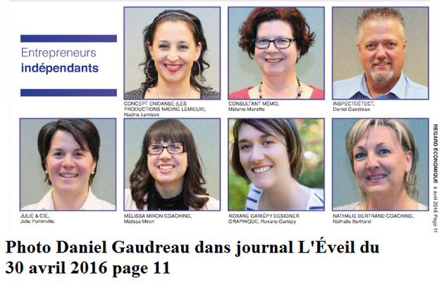 Photo journal L'Éveil 30 avril 2016