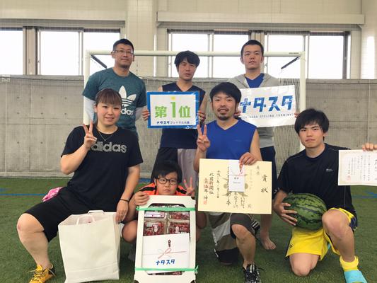 2018 6.24 ナダスタ第13回フットサル大会