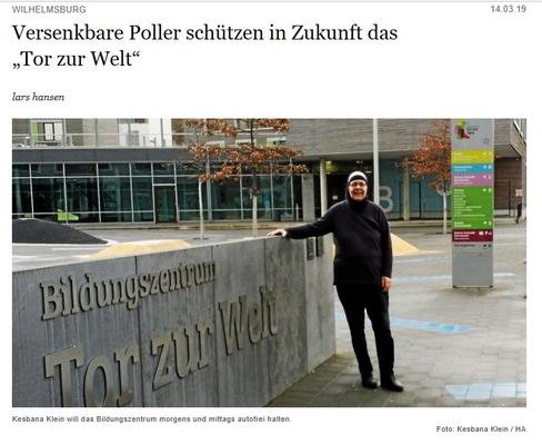 Hamburger Abendblatt, 15.03.19
