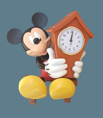 Reloj Mickey Mouse resina para colgar en pared.