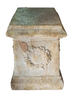 Columna de resina imitación piedra