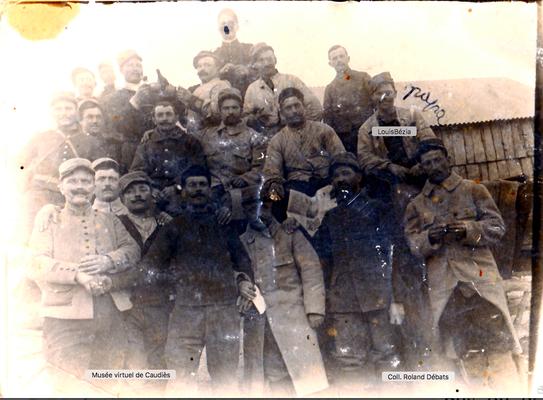 1917 Camp de Prisonnier  de MANNHEIM en Allemagne