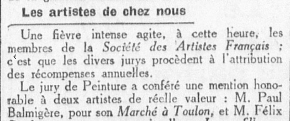 Le Petit Méridional 7juin 1930