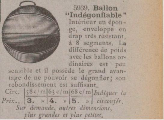 Ballon choisi sur le catalogue (Rubrique Jeuxde Plein Air) gallica.bnf.fr