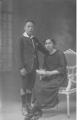 François et sa mère Marthe