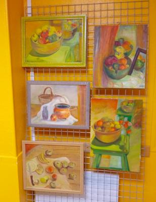 Peintures de Chantal Desdouets
