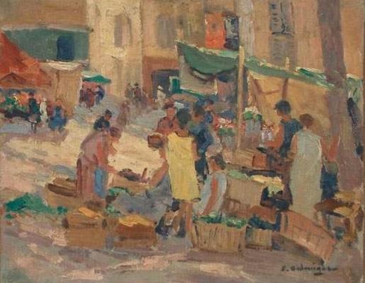 Balmigère Marché à Toulon