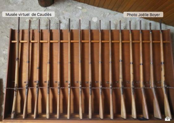 Fusils du Bataillon scolaire