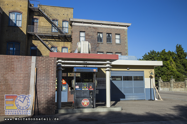 the Texaco gas station of Hill Valley