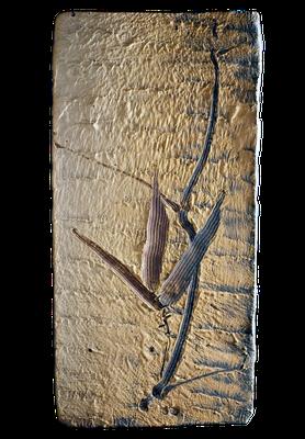 "Eugeny Granin. ""Bamboo"". Decorative ceramic panel. $2777"