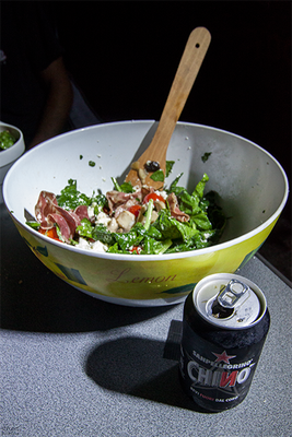 italienischer salat e chinotto