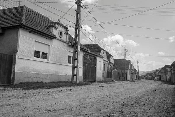 typische Straße