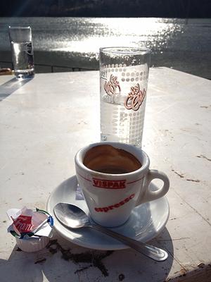 sehr sehr leckerer espresso
