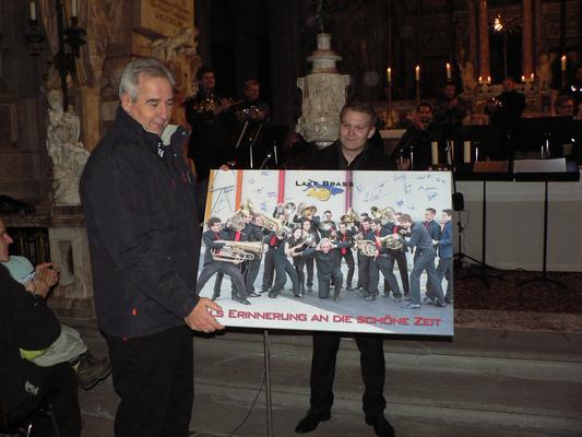 Verabschiedung unseres Dirigenten Szabolcs Galanthay