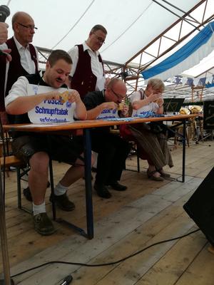 Preisschnupfen am Teisnacher Sommerfest