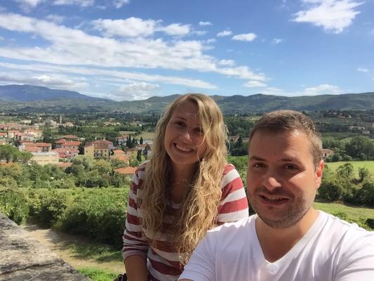 Im Urlaub in der Toskana