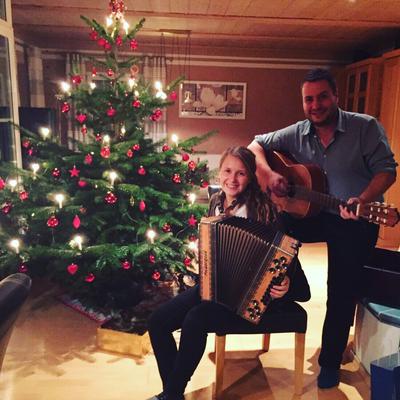 An Weihnachten gibt's Hausmusik bei den Graßls