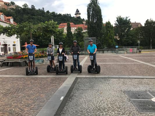 Unterwegs mit der Familie in Graz