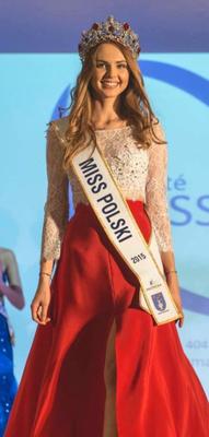 Magdalena Bienkwoska - Miss Pologne 2015