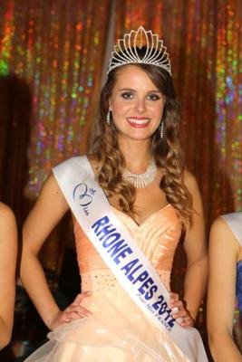 Julie Jacquot - Miss Rhône-Alpes 2012