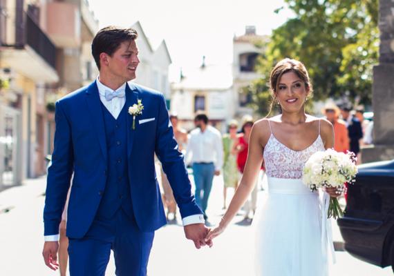 Anahita / Août 2016 - Ludivine Guillot, robe de mariée sur mesure à Lyon.