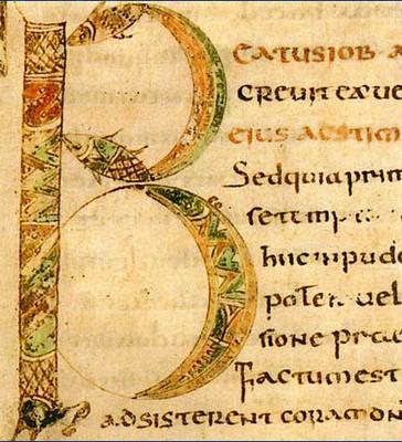 Saint Grégoire, Commentaires sur Job France, fin du VIIe siècle.