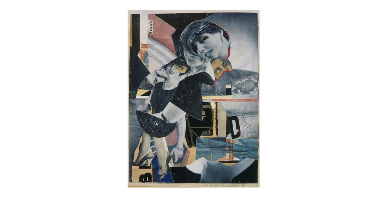 Höch, Hannah (1889-1978), Da-Dandy, 1919 Collage, Bridgeman-Giraudon / Art Resource, NY  © ARS, NY Private Collection, Berlin.