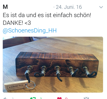 """""""schönES Ding"""" - Schlüsselboards für Liebhaber."""