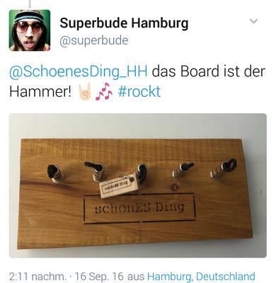 """""""schönES Ding"""" - Hammer Feedback!"""