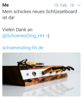 """schönES Ding"" - Rock'n'Roll Edeloptik."