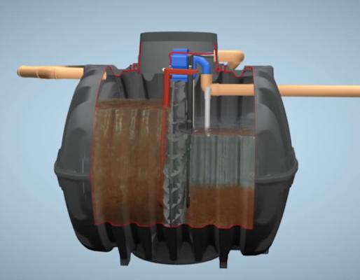 Planta depuradora compacta SBR fabricada en HDPE - Aqualimpia Engineering e.K.